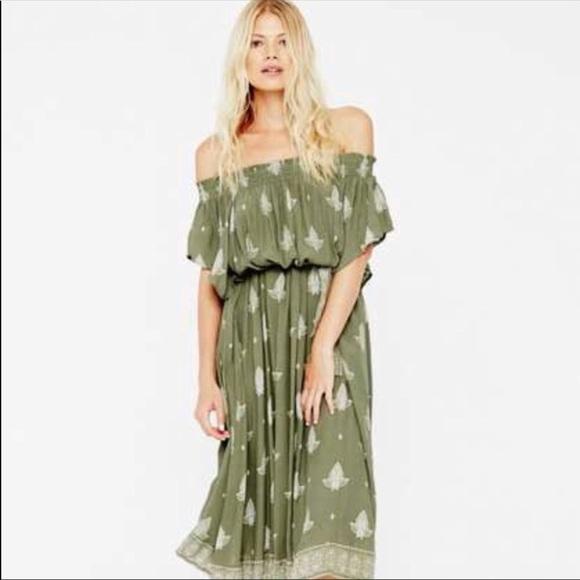 ca209aff5694 Faithfull the Brand Orissa Dress midi length! NWT